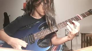 Angra - Morning Star guitar solo by Marino Oliveira