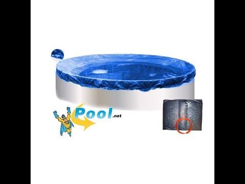 Pool-Abdeckplane Poolplane zur Abdeckung des Stahlwandpool