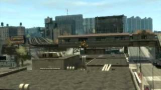 GTA 4 funny moments and stunts 1