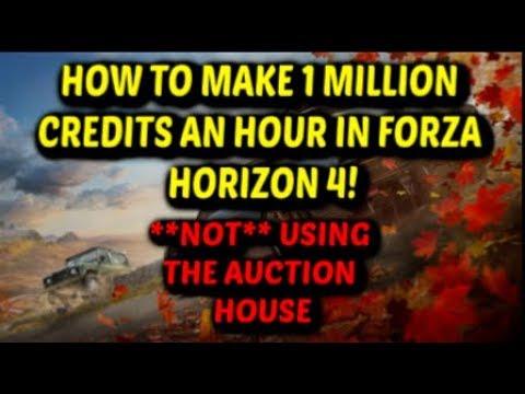 Forza Horizon 4 Credit Glitch