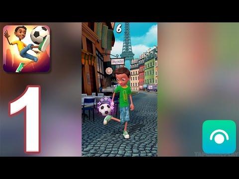 Kickerinho World - Gameplay Walkthrough Part 1 - Challenges: 1-20 (iOS)