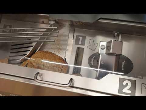 Cortadora de pan estilo saw