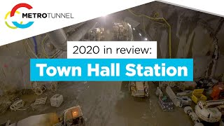 2020 in review: Town Hall Station