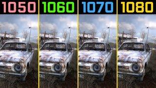 STALKER: Shadow of Chernobyl GTX 1050 Ti vs. GTX 1060 vs. GTX 1070 vs. GTX 1080 [4K]