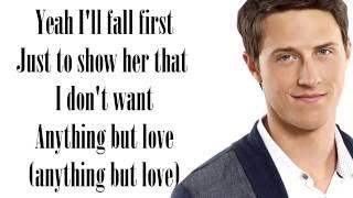 Anything but Love- Shane Harper Lyrics