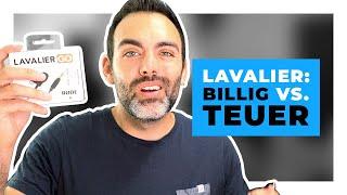 Lavalier Mikrofon: Billig vs. Teuer  - Lohnt sich der Aufpreis? (Blusmart vs. RØDE Lavalier GO)