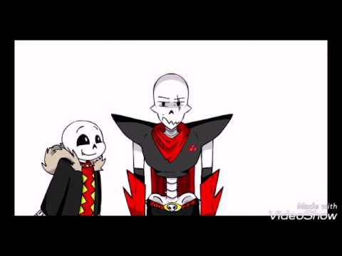 Underfell Sans And Papyrus Fight