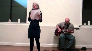 Sharon Coleman (with Barry Ebner) - Bernal Yoga Literary Series - March 2015 - Video Youtube