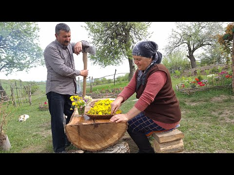 Making Natural Dandelion Flower Jam and Delicious Chicken Dish