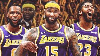 Lakers Sign DeMarcus Cousins, Rajon Rondo! 2019 NBA Free Agency