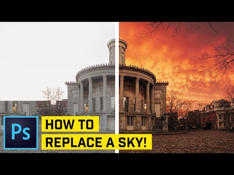 Sky Replacement Photoshop CC Tutorial