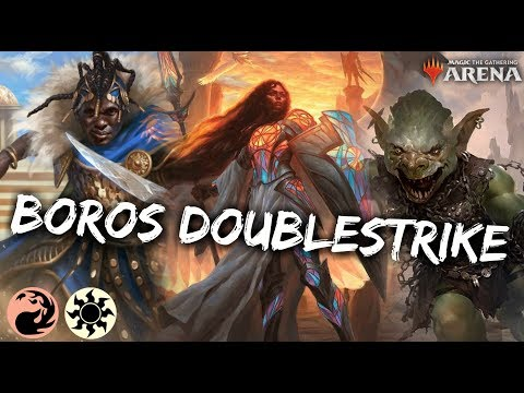 Download Boros Double Strike [MTG Arena] | Red-White Kwende First Strike Deck In GRN Standard HD Mp4 3GP Video and MP3