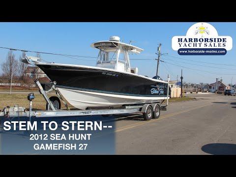Sea Hunt Gamefish 27 video