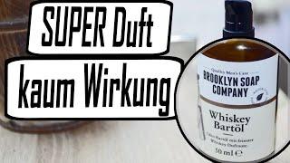 Brooklyn Soap Company Bartöl Review   Wiskey Duft   Test
