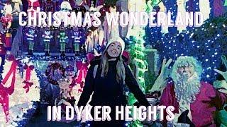 Влог: Новогодняя страна чудес в Дайкер Хайтс, Бруклин   Нью-Йорк   Ольга Рохас