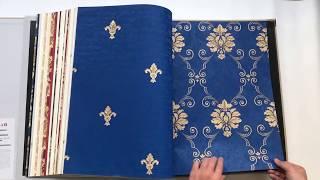 A21-15 Modern Style Elegant Flower Design PVC Wallpaper For Home Decor