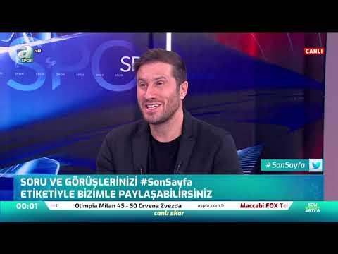 """Mehmet Yılmaz: """"Sosa Çok Kaliteli Ve Disiplinli Bir Futbolcu"""" / A Spor / Son Sayfa / 05.12.2019"""