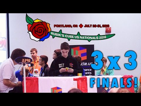 2016 Rubik's Cube US National Championship 3x3 Finals