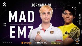 MAD Lions E.C. VS eMonkeyz Club | Jornada 18 | Temporada 2019 Verano