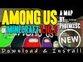 How to get Among Us Map for Minecraft 1
