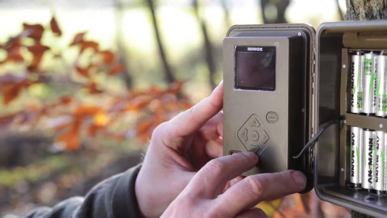 Видео о товаре Фотоловушка (лесная камера) MINOX DTC650 camo