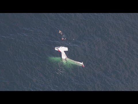 ავიაკატასტროფისას წყნარ ოკეანეში სასწაულით გადარჩენილი 2 ადამიანი - ნახეთ ვიდეო