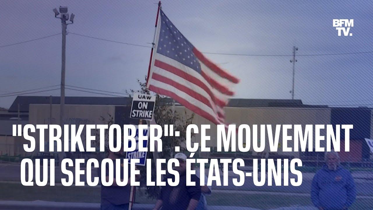 """Qu'est-ce que """"Striketober"""", ce mouvement qui secoue les États-Unis depuis plusieurs jours ?"""