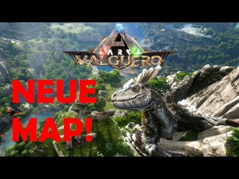 DEINONYCHUS & NEUE MAP!? | ARK Valguero (Tim/german)