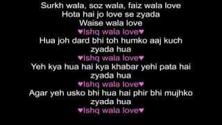 Ishq wala Love Student Of the Year Lyrics - YouTube