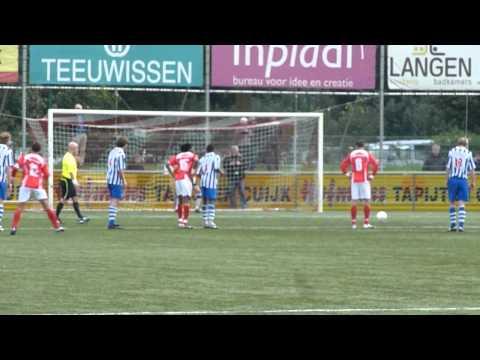 JVC Cuijk - FC Lienden - penalty - 3-1