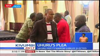 President Uhuru Kenyatta meets Nairobi elected Jubilee leaders