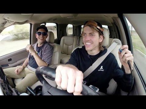 Skaters In Cars: Aaron Jaws Homoki | X Games