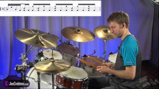 Drum Lesson : Fireball Intro - joecrabtree.com