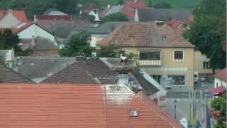 preview picture of video 'Čápátka v rakouském Rustu, vinařské oblasti - městě vína a čápů 6.7.2012.mpg'