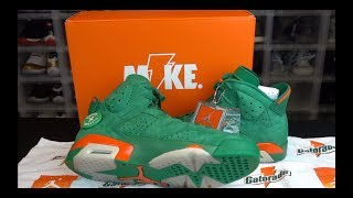 AIR JORDAN 6 GREEN GATORADE SNEAKER REVIEW