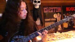 Angie- Paranoid (Black Sabbath, bass cover)