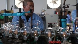 Amazing Bulb Manufacturing Process! See How Bulbs Are Made In The Factory