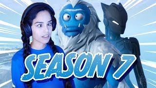 VALKYRAE REACTS TO FORTNITE SEASON 7 !!!