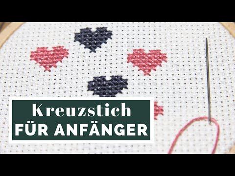 Kreuzstich lernen | #stickenfetzt | muckout.de – Bastel-Sets & DIY-Anleitungen
