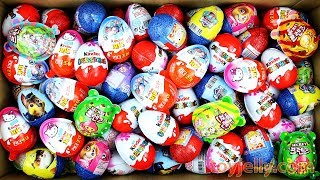 New Surprise Eggs Unboxing Surprise Kinder Joy Baby Toys for Children Learn Colors Nursery Rhymes
