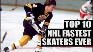 Top 10 NHL Fastest Skaters Ever