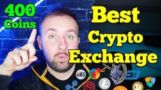 Best Crypto Exchange With The Most Coins - Over 400 Altcoins For US Citizens