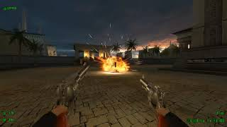 Serious Sam HD: TFE (Fusion) Map15: Karnak [Serious/No Saves/All Secrets/Modded Cosmetically]