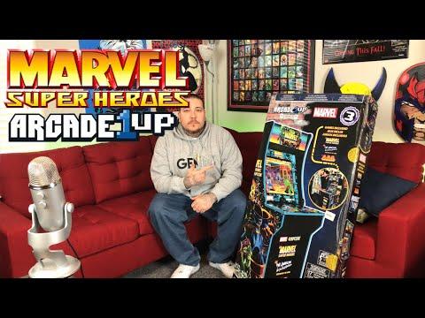 MARVEL SUPER HEROES ARCAPE1UP Review + ROOM TOUR