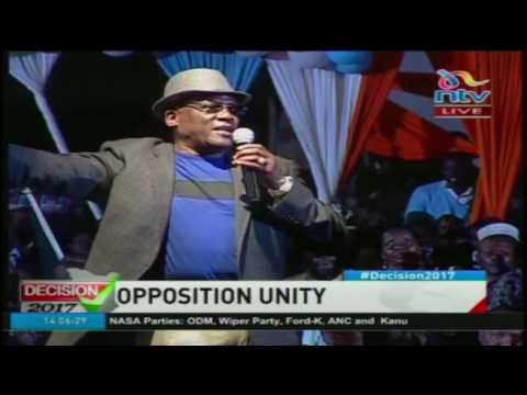 Senator Muthama's speech at the NASA formation meeting - #Decision2017#Decision2017
