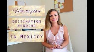 How to plan a destination wedding in Mexico? Plan a beach wedding in Cancun, Tulum, Playa.