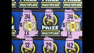 Not Bad! Multiple Matches! CALIFORNIA LOTTERY SCRATCHER TICKETS