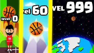 IS THIS THE STRONGEST HIGHEST LEVEL BALL TOSS TROW EVOLUTION? (9999+ SPACE LEVEL) l Throw it Higher!