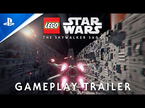 Vidéo LEGO Jeux vidéo PS4-LWS-SS : LEGO Star Wars la saga Skywalker - Deluxe edition PS4