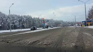 много снега в Солигорске
